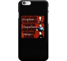 The Captain, The Superhero, and The Writer iPhone Case/Skin