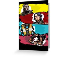 Back to the Borderlands Greeting Card