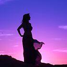 Silhuette of Beautiful Kersti by loiteke