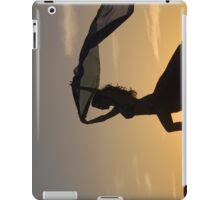 Silhuette of Beautiful Kersti iPad Case/Skin