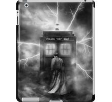 Ligtning Into The Public Police Call Box iPad Case/Skin