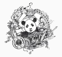 Rocking panda by Emilie Desaunay