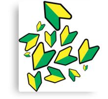 Jdm leaf Canvas Print