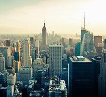 Manhattan Cityscape by solnoirstudios