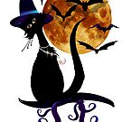 Bewitching Black Kitty by Lotacats