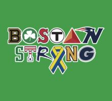 BOSTON Strong by WickedCool