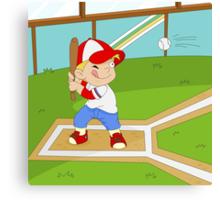 Non Olympic Sports: Baseball Canvas Print