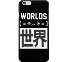 WORLDS Design iPhone Case/Skin