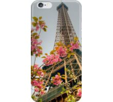 Springtime Eiffel in HDR iPhone Case/Skin