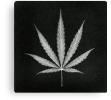 Cannabis Leaf Print  Canvas Print