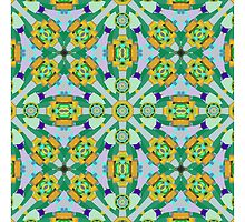Cute Kaleidoscope Pattern by walstraasart