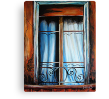 Isabel's Window Canvas Print