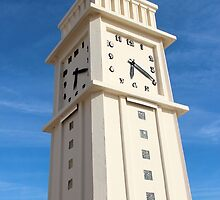 The Time Guardian - Les Sables d'Olonne, France by Tiffany Lenoir