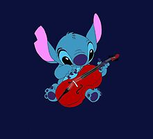 Stitch and a Cello dark blue  by eleanor89