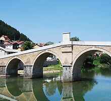 Old Stone Bridge in Konjic by jojobob