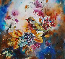 'Finch Sanctuary' aka mr finchy by Rebecca Yoxall