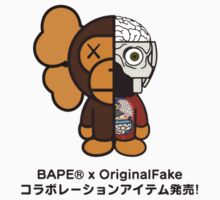 Bathing Ape Baby Milo x Original Fake by Dan Roberts
