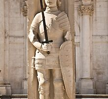 Prince Charming - Orlando's Column, Dubrovnik. by Alena Kucharenka
