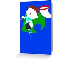 Super Smash Bros The Villager (Alt Costume) Greeting Card