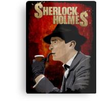 Sherlock Holmes Jeremy Brett T-Shirt Metal Print