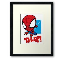 Spider-Man: THWIP!! Framed Print