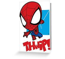 Spider-Man: THWIP!! Greeting Card