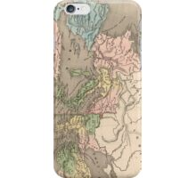Vintage Map of The Roman Empire (1838) iPhone Case/Skin