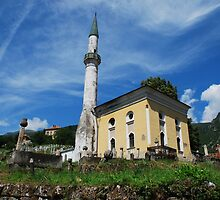 Mosque in Travnik by jojobob