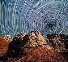 White Pocket Star Trails by Drew599