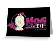 Mognet Greeting Card