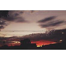 Sunsetsss Photographic Print