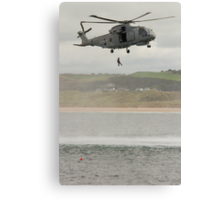 Royal Navy Merlin Helicopter Canvas Print