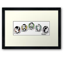 The Creatures V.2 Framed Print