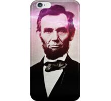 Hip and Honest Abe iPhone Case/Skin