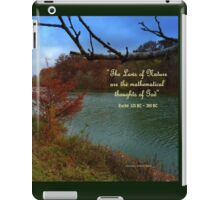 Walking with Nature iPad Case/Skin