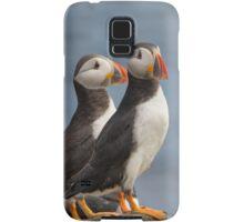 Mr & Mrs Puffin Samsung Galaxy Case/Skin