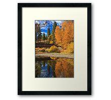 Bridge Over The Susan River Framed Print