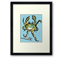 Crab Ham - Laughs a Minute!  Framed Print