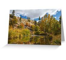 Susan River 10-25-12 Greeting Card