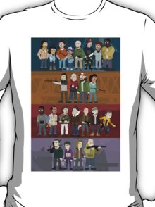 The Four Groups T-Shirt