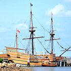 Mayflower II, Plymouth by Poete100
