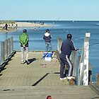 Happy Fishermen at Werribee Sth. Vic. Aust. by EdsMum