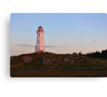 Sunrise at the Lighthouse Canvas Print