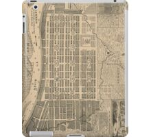 Vintage Map of Savannah Georgia (1818) iPad Case/Skin