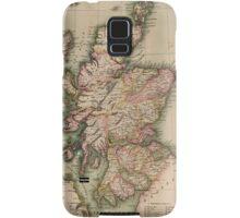 Vintage Map of Scotland (1814)  Samsung Galaxy Case/Skin