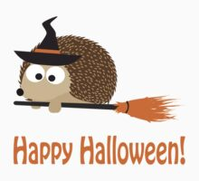 Happy Halloween! Hedgehog Witch Kids Clothes