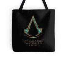 Assassins creed Lexicon mash up Tote Bag