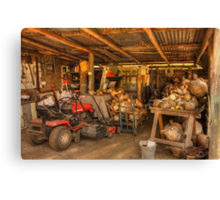The Gourd Shed Canvas Print