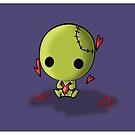 Cute little Zombie by reloveplanet