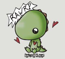 Dino says Rawr by reloveplanet